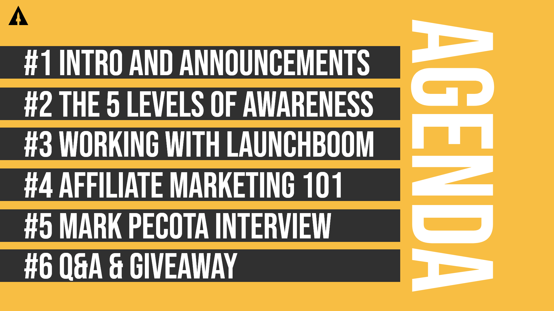 LaunchBoom Live Recap: Customer awareness, affiliate marketing, and an interview