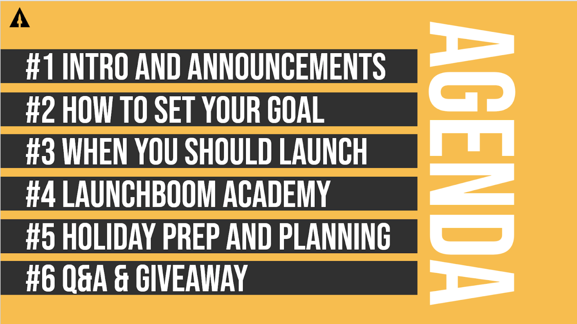 LaunchBoom Live Recap: How to set your goal, the best time to launch, and holiday crowdfunding guidance