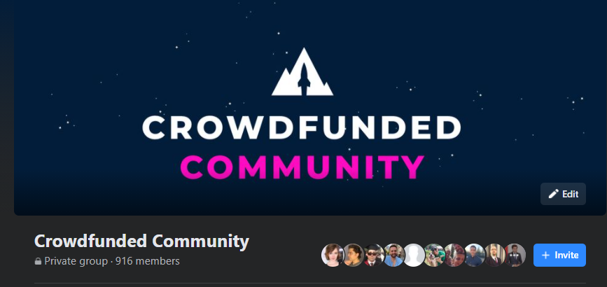 Crowdfunded Community