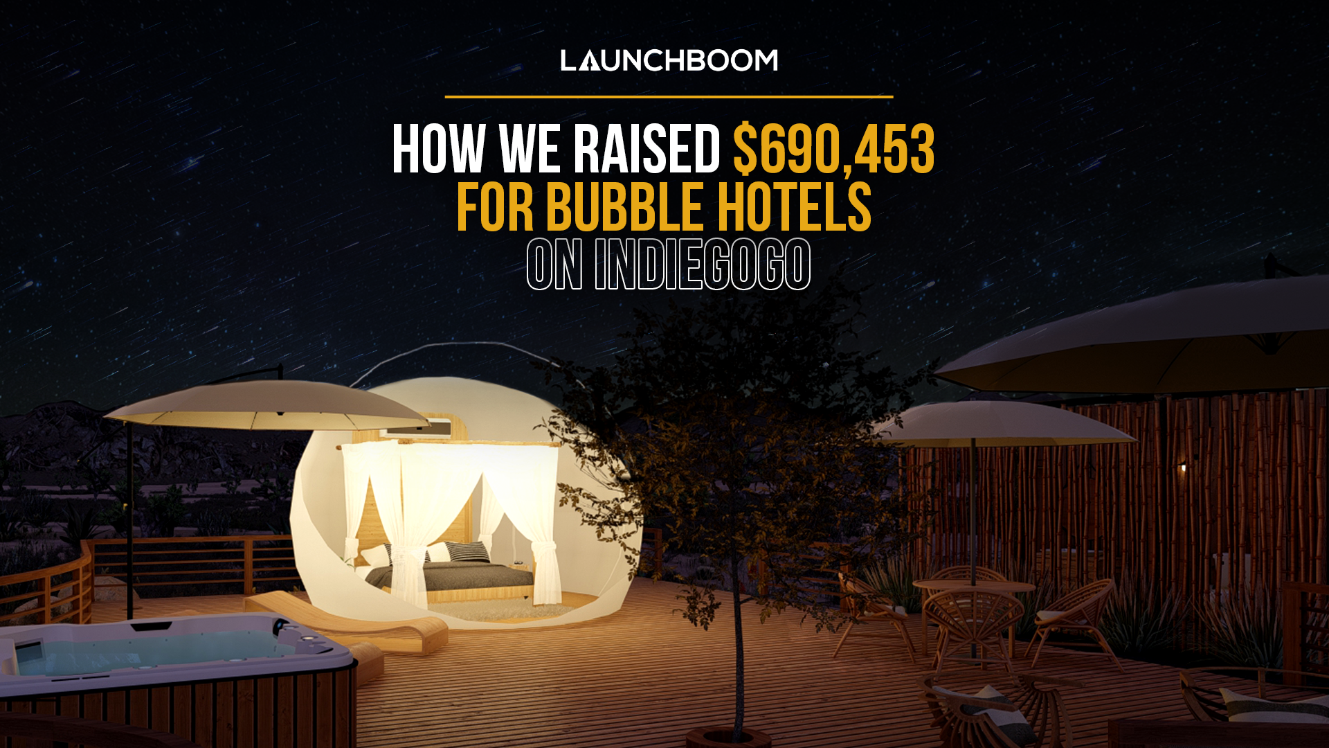 How we raised $690,453 for Bubble Hotels on Indiegogo [CASE STUDY]