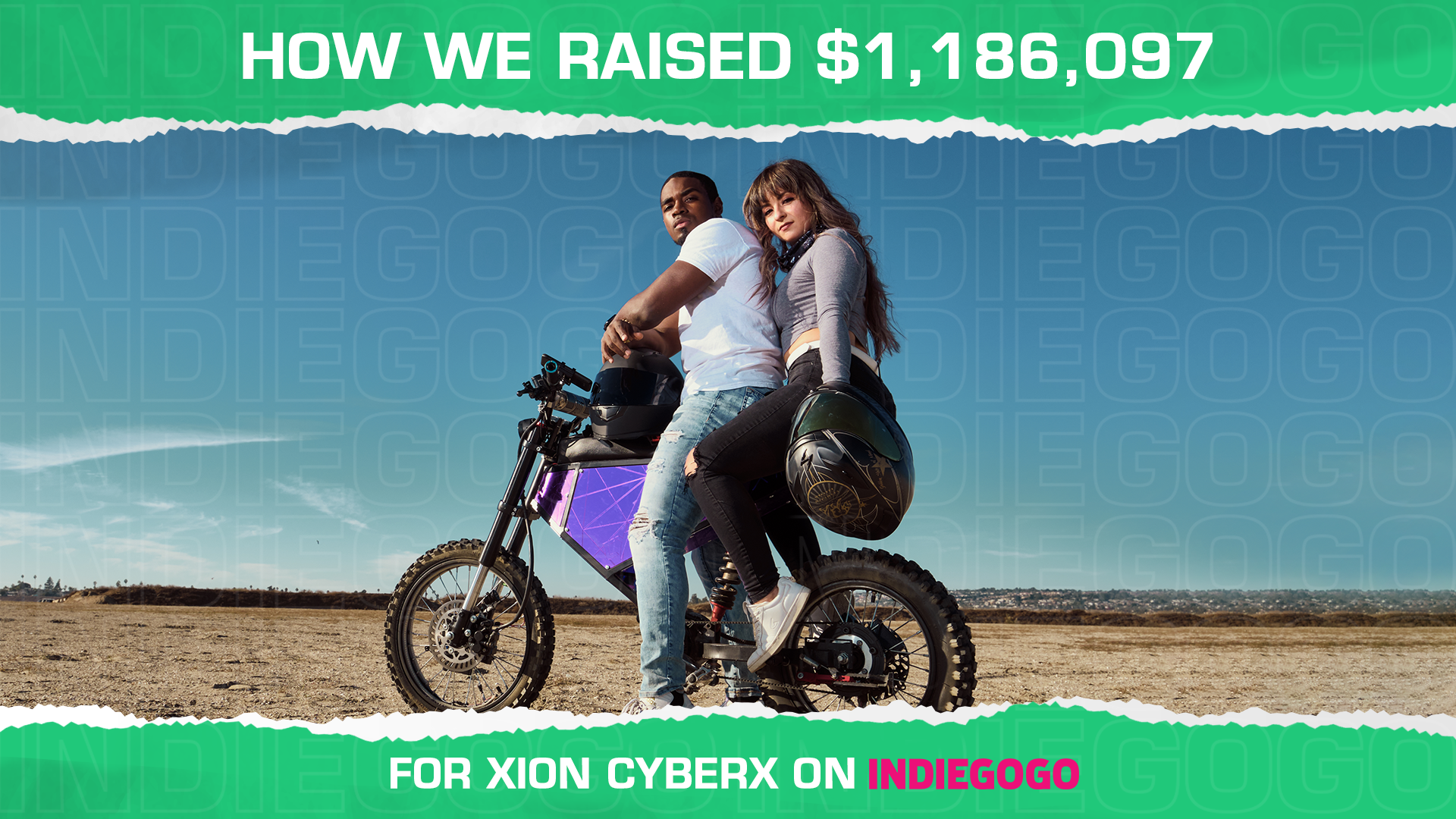 How we raised $1,186,097 for XION CyberX [CASE STUDY]