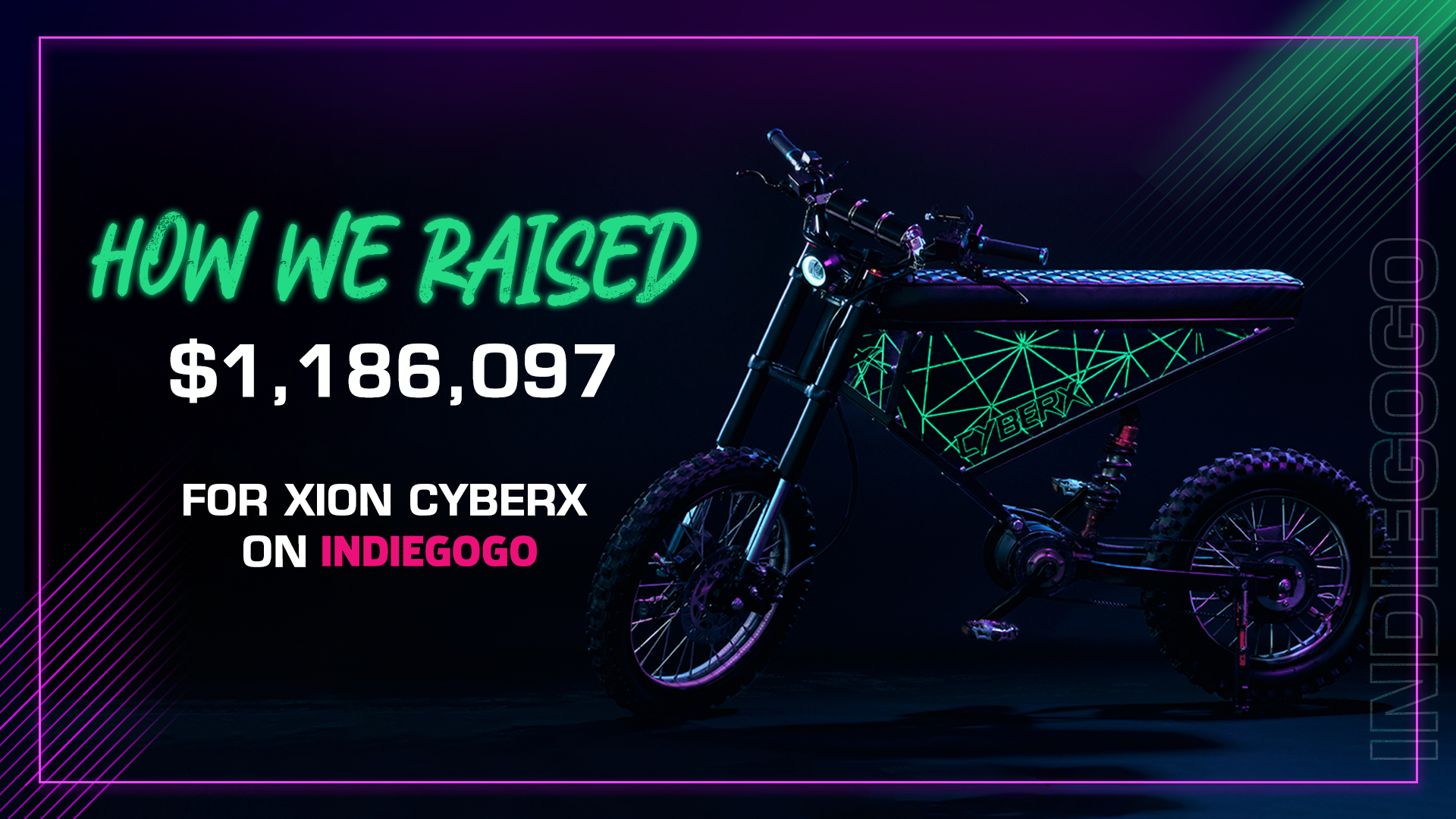 How XION CyberX raised over $800K on day 1 on Indiegogo