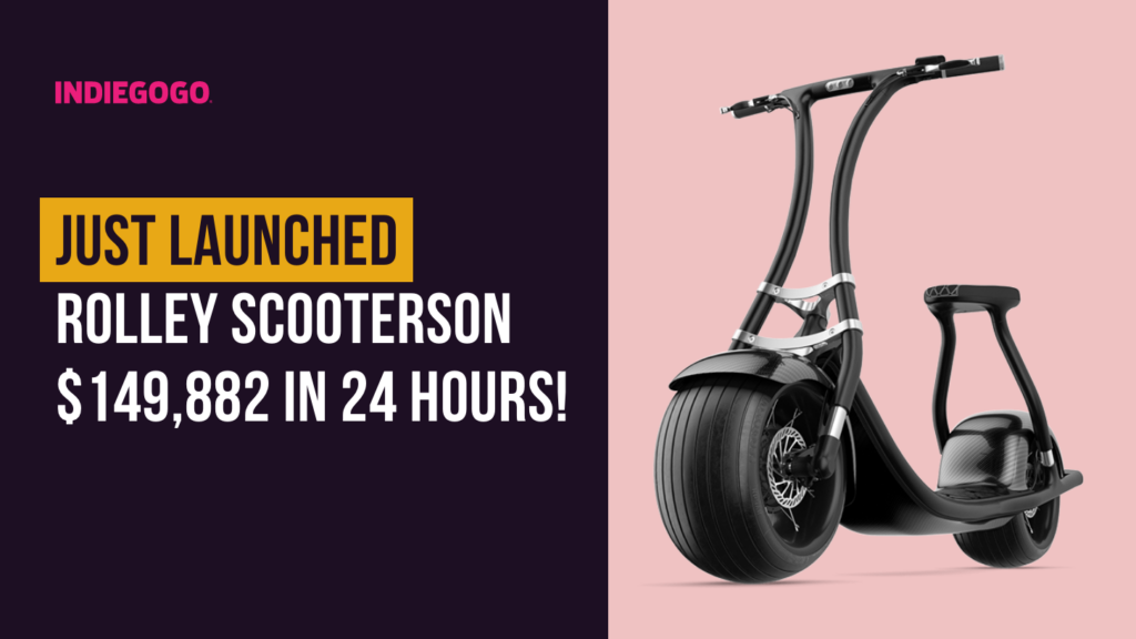 Just launched Rolley Scooterson $149,882 in 24 hours