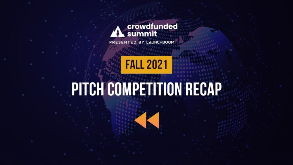 Fall 2021 Pitch Competition Recap
